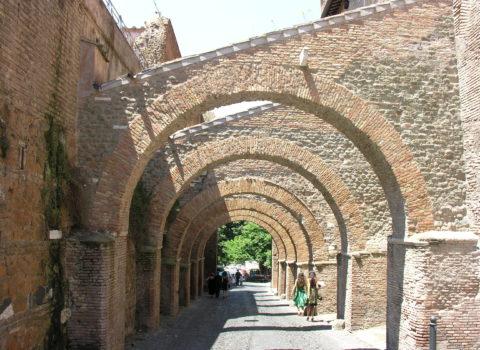 Le case romane del Celio e il cibo dell'antica Roma