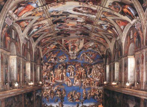 Raffaello e Michelangelo in Vaticano… di notte